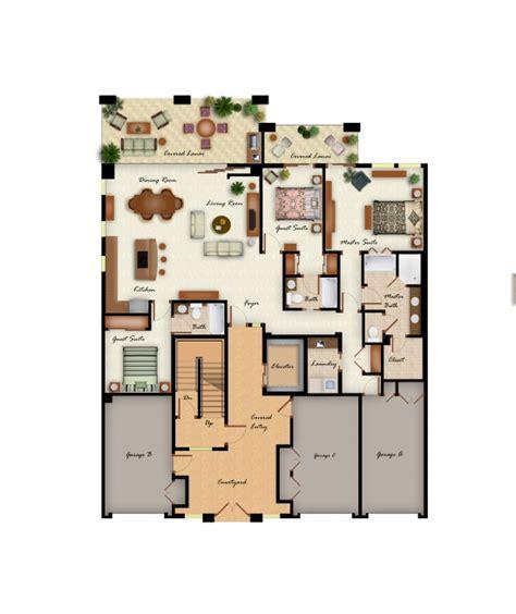 3 floor plan kolea floor plans