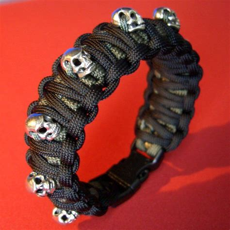 skull for paracord bracelets 27 best images about paracord and bullets on