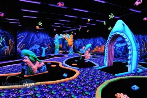 glow in the paint ontario 1000 images about miniature golf courses on