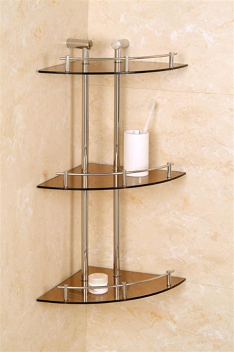 glass shelving bathroom glass shelving unit bathroom bathroom decoration plan