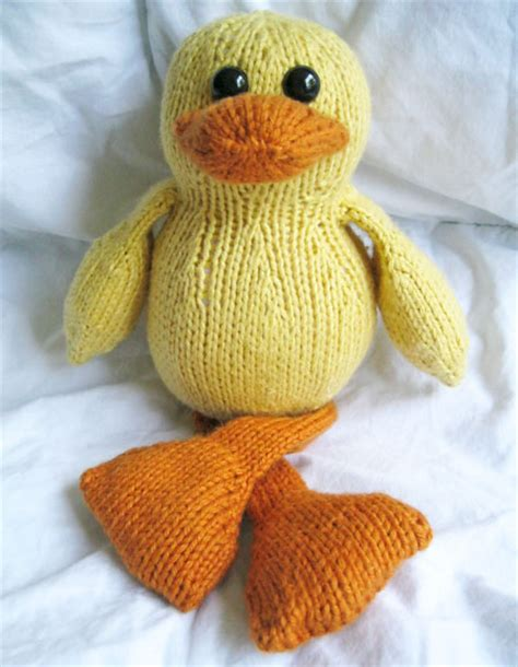 Dudley The Duck Knitting Patterns And Crochet