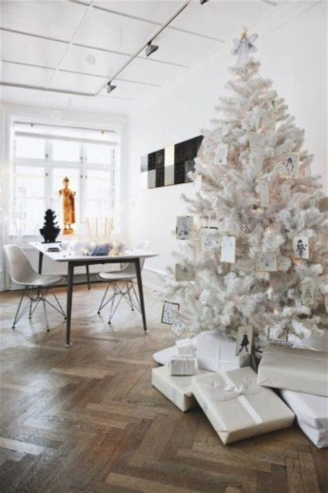 white tree with ornament tags pictures photos and images for