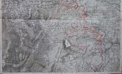 la guerre 1914 1918 en alsace bataille du linge en 1915 63 232 me raaa poste 1 2 fixe 96 carte