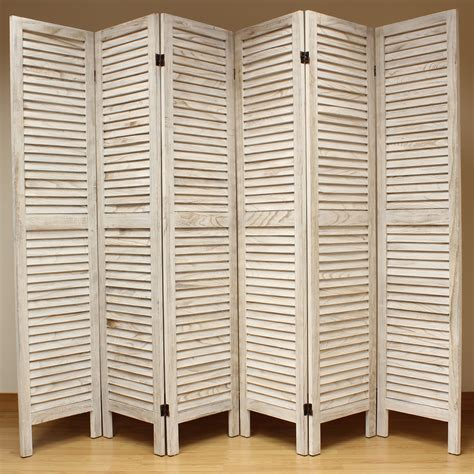room divider panels 6 panel wooden slat room divider home privacy screen