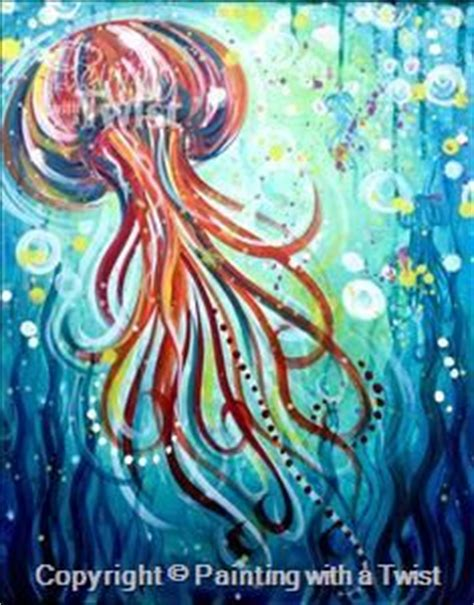 paint with a twist san marco 25 best ideas about jellyfish painting on