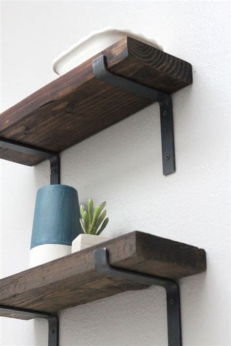 metal brackets for shelves 25 best ideas about rustic shelves on shelves