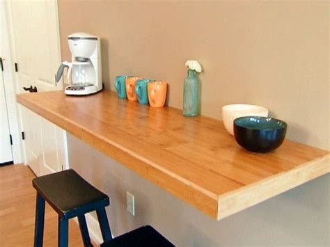 kitchen table counter 25 best ideas about wall mounted table on