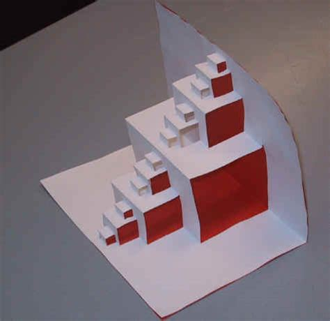 how to make a fractal card how to make a simple fractal pop up cosmic levity
