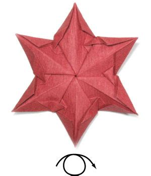 origami flower poinsettia how to make an origami poinsettia flower page 23