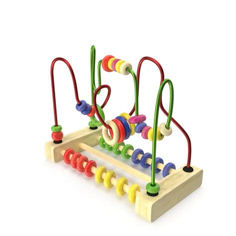 toys with on wires wire maze bead 3d model