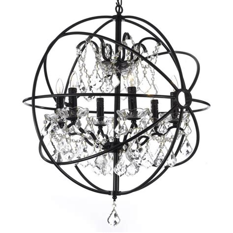 wrought iron orb chandelier modern chandelier contemporary lighting