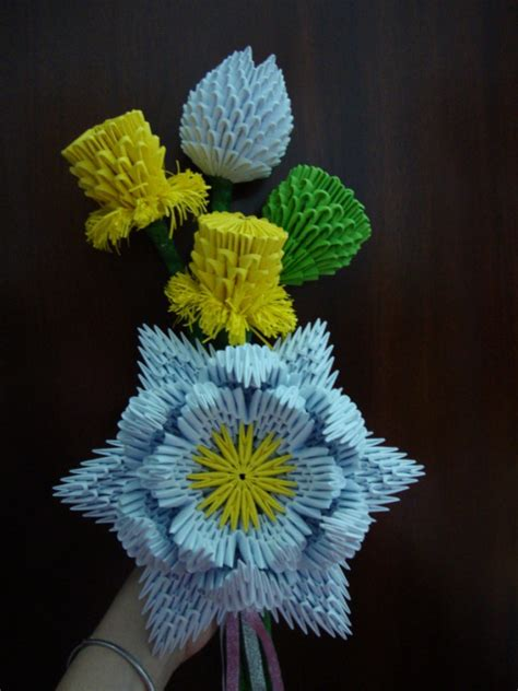 3d origami flower 3do lotus jpg album chene 3d origami