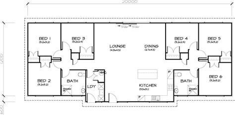 6 bedroom house designs 6 bedroom transportable homes floor plans