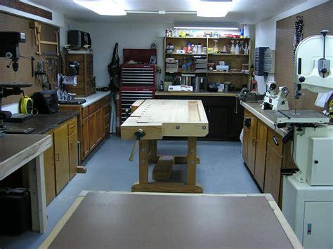 woodworking shop tour woodshop garage layout studio design gallery best