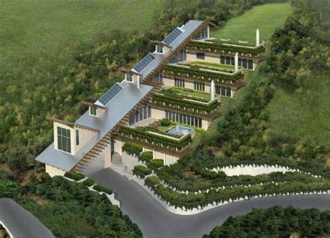 Earth Sheltered House Plans green roof green roofs green roofing roofing