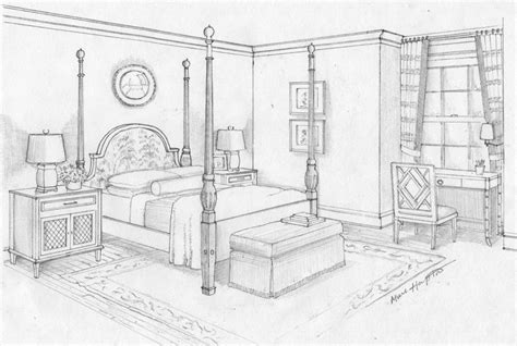 how to draw a bedroom 13 best images about interior perspective ref on