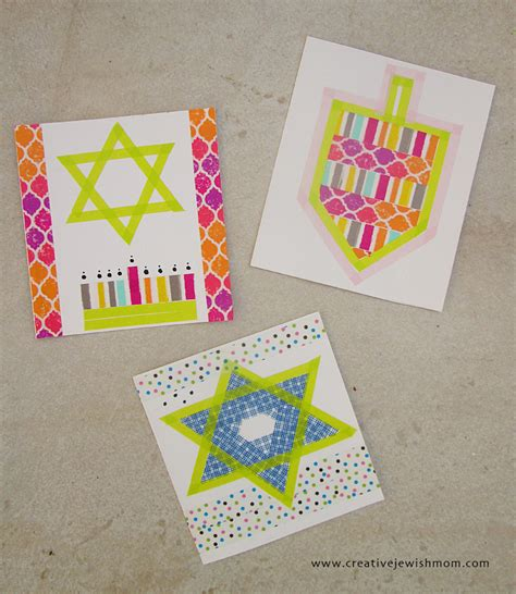 hanukkah cards to make a up of hanukkah crafts from the archives creative
