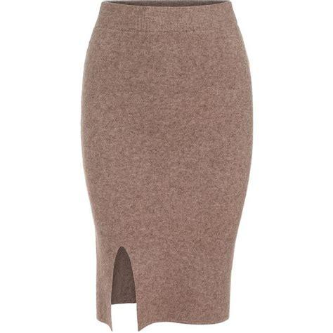 brown knit skirt best 25 knee length skirts ideas on purple