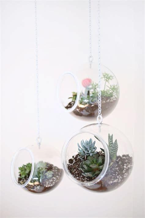 hanging planters diy diy fishbowl hanging planter diy