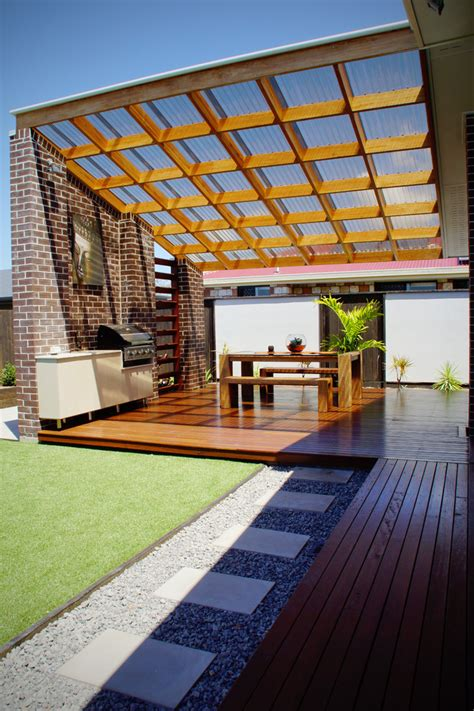 pergola clear roof decorating your beloved home with polycarbonate roof