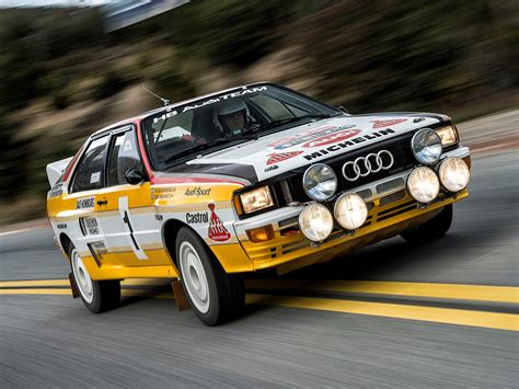 B Rally Car Wallpapers by 1983 85 Audi Quattro B Rally Car Typ 85 Wrc Race