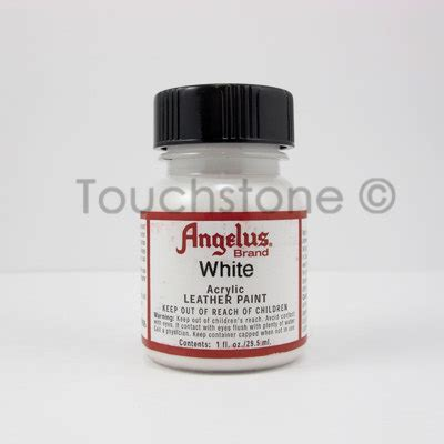 angelus paint how to use white angelus acrylic leather paint 1oz bottle 6 720005