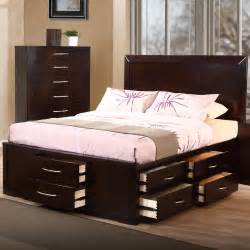 bed with drawers bed with drawers underneath decofurnish