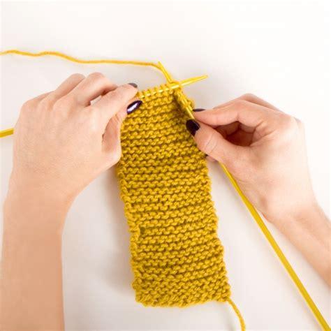 how to knit garter stitch knitting 1 the garter stitch by kollabora skillset