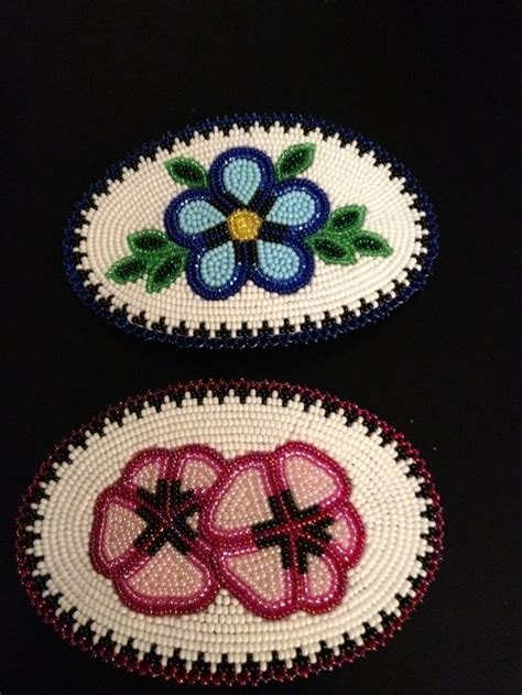 how to make american beaded barrettes beaded hair barrettes made by ruth agnes esther s