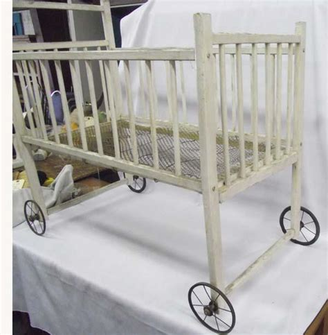 antique baby cribs antique baby crib must be picked up