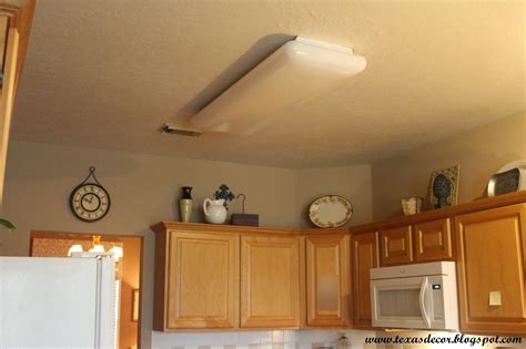 fluorescent kitchen lights decor a new kitchen light