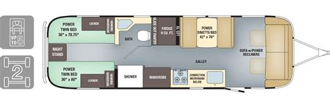 travel trailers floor plans floorplans classic airstream