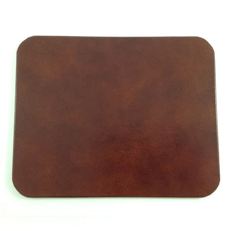 desk pads for brown glazed leather desk pad genuine leather with glossy