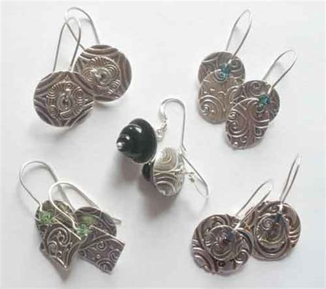 how to make silver clay jewelry convergent series workshops by carol scheftic
