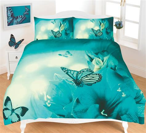 butterfly bed sets butterfly 3d effect duvet cover bedding set ebay