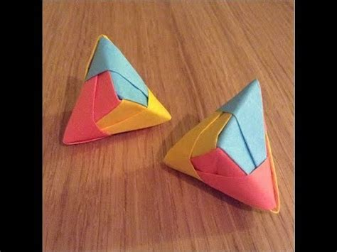 sticky note origami cool origami post it model
