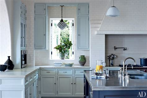 photos of painted kitchen cabinets painted kitchen cabinets photos architectural digest