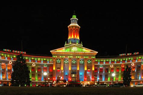 best lights in colorado springs lighting ceremonies for the holidays throughout