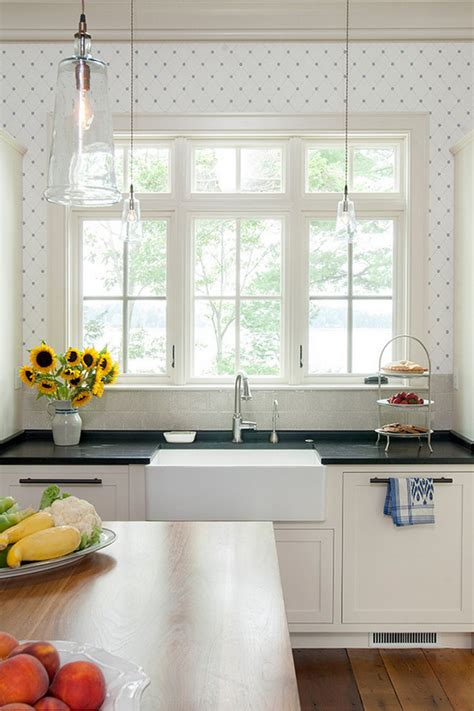 kitchen wallpaper designs maine house with classic coastal interiors home
