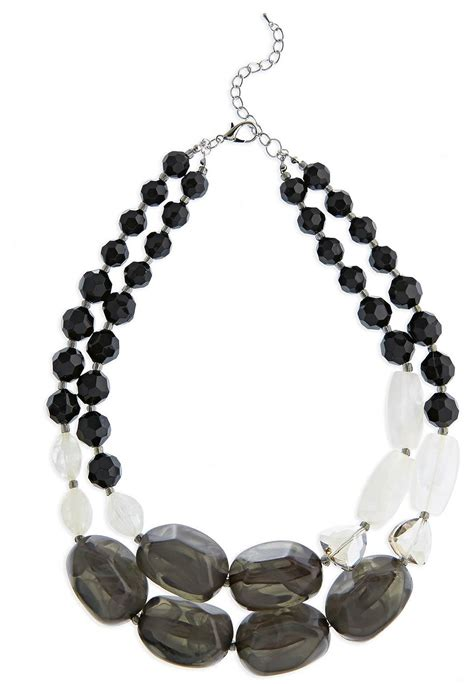 chunky bead necklace for cato fashions