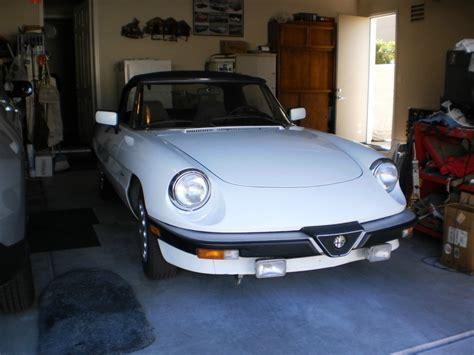 Alfa Romeo Graduate For Sale by 1989 Alfa Romeo Spider Graduate For Sale