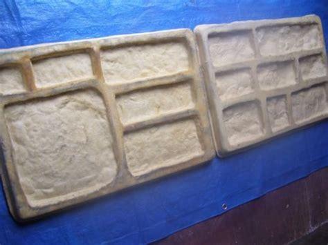 rubber st diy 2 castle veneer concrete rubber molds diy make