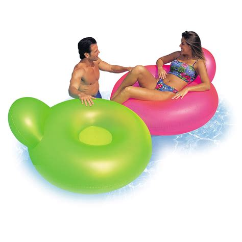 fauteuil de piscine gonflable intex leroy merlin