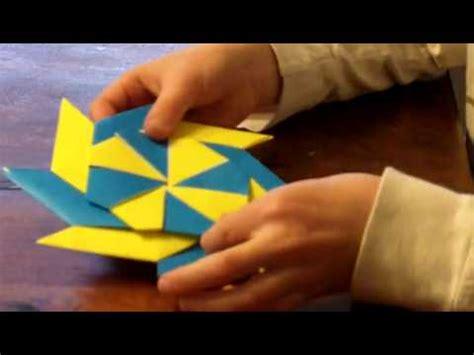 origami frisbee origami frisbee reversable