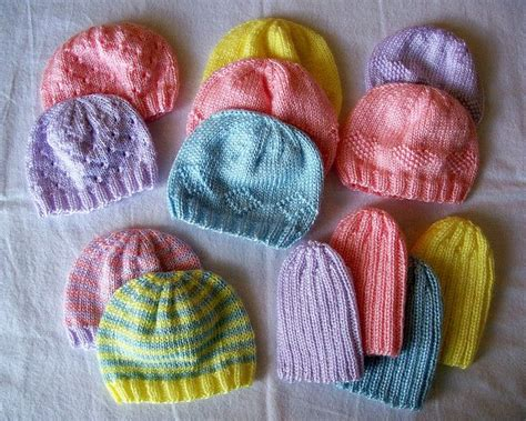 donating knitted baby hats hospitals charity baby hats to knit crochet