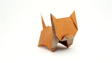 origami from origami neko cat jo nakashima remake