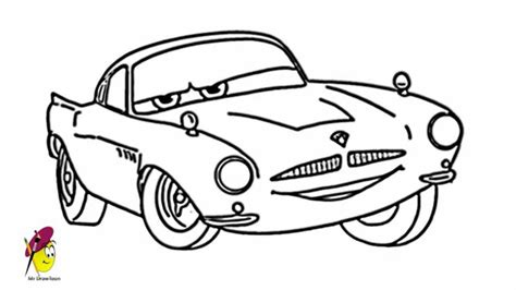 how 2 draw finn cars 2 how to draw finn from cars 2