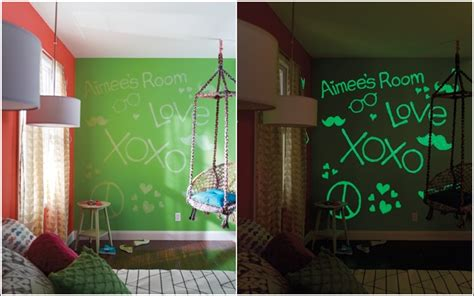 Wall Stickers Glow In The Dark glow in the dark paint and decals for your child s room