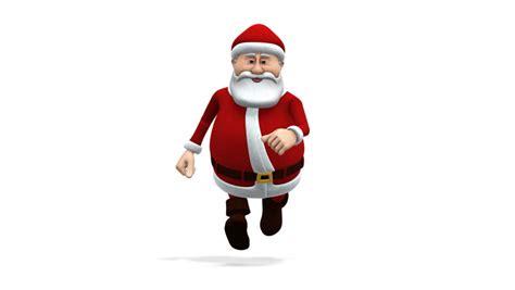 santa claus animations animation of santa claus walking transparent background
