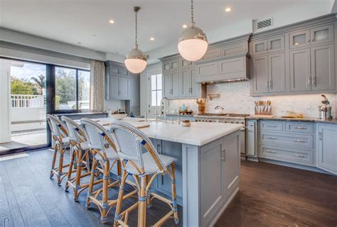 grey blue kitchen cabinets kitchen cabinetry blue gray color home ideas